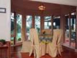 Dinning Room overlooking pool and acreage