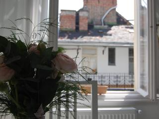 sunny top floor suite  , two rooms  ,  free wifi , next Danube  river , AC