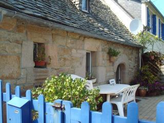 maison de pecheur proche des côtes bretonnes