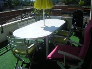 banlieue de Toulouse loue T 2 meuble avec piscine, Leguevin