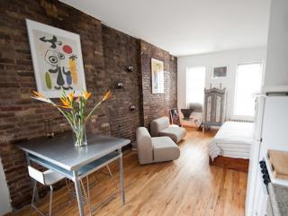 Beautiful Sunny & Quiet Studio With Brick Walls., New York City