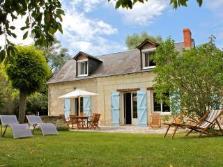Maison de charme au bord de l'eau, Le-Petit-Pressigny