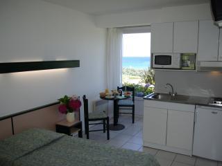 studio terrasse côte mer