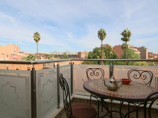 Guest Friendly Flat in Gueliz, City Center Marrakech, WIFI 4P