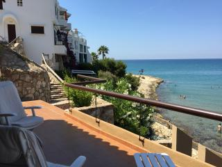 Apartamento a primera línea de mar playa Altafulla