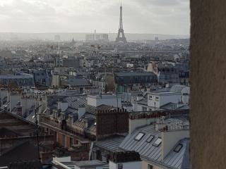 A Montmartre Belle vue sur Paris