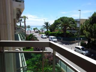 Magnifique 3p, 50 m de la mer, proche Nice