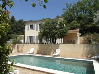 Luberon-provence Mas 4 ch piscine sécurisée clim, superbe vue Colorado Provença