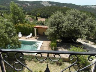 Luberon-provence Mas 4 ch piscine sécurisée clim., Rustrel
