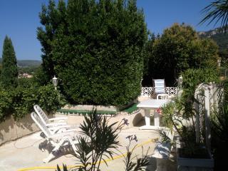 Dans villa luxe centre /jardin +garage pour 5 pers