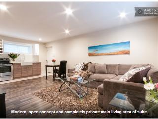 Modern, Open-Concept Basement Suite, North Vancouver