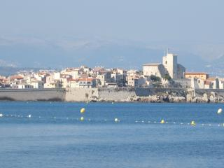 Site très classé,coquet rez de jardin ,proche mer