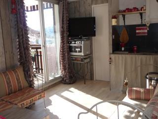 3P la foux dans residence ,park,terrasse, La Foux d'Allos