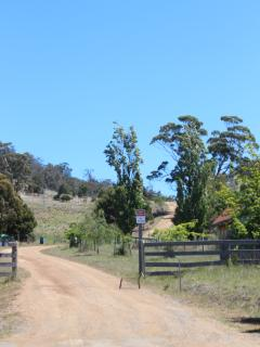 The front gate of Preservation Farm