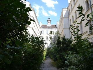 Calme et verdure en plein Paris