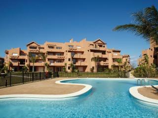 Apartment mit großer Gartenterrasse Blick zum Pool, Torre-Pacheco