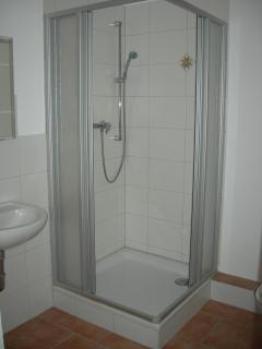 Das Bad, Dusche
