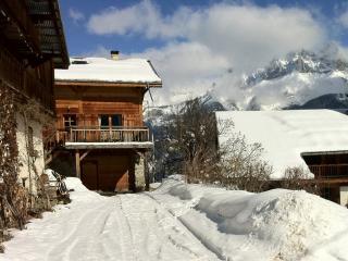 Chalet 4* dans hameau de montagne vue Mont -Blanc