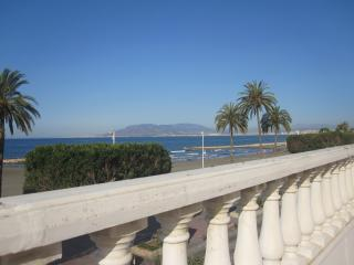 Close to Malaga City, Beach Front Apartment