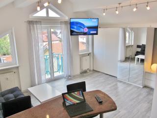 Central Cozy Penthouse Style Studio Apartment, Traunreut