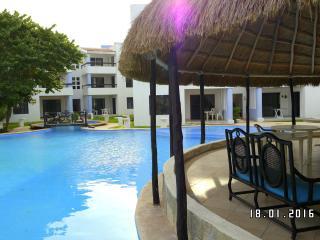 Apartamento con encanto mexicano cerca del mar, Chicxulub