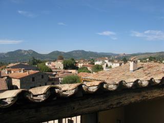 Provence Maison dans le fond Caromb du Mont Ventoux