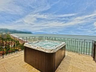 Unique Oceanview Penthouse w/Jacuzzi. Available for the Holidays!, Jaco