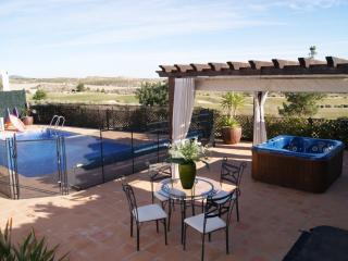 Stunning 4 bed Golf villa ( Heated Pool), San Javier