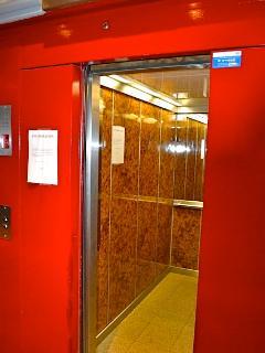 un des trois ascenseurs