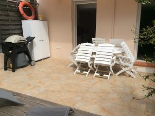 Appartement 3P grande terrasse 2mn plages