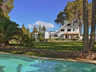 Ibizan house- 6 bedroom+,2 pools , lush garden