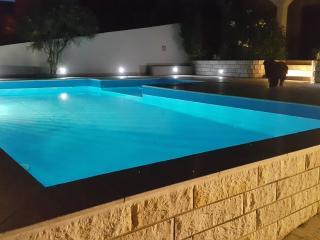 Swimming pool at night - Palma apartments
