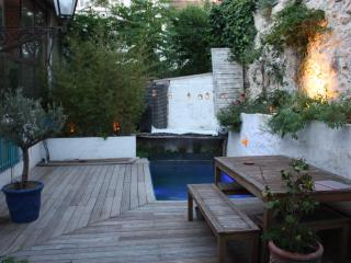 Appt/maison design piscine+garage centre ville