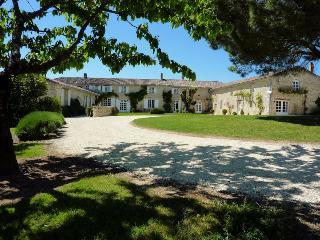 Grand gîte de 250 m2 dans Manoir avec piscine, Sainte-Gemme