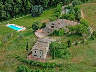 Aiolina hamlet in Chianti - Villa Il Fienile, Vagliagli