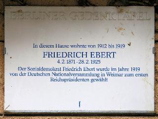 Friedrich Ebert's alte Wohnung, 2 Zimmer, 65m², Berlin