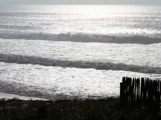 Appartement front de mer vue directe Océan