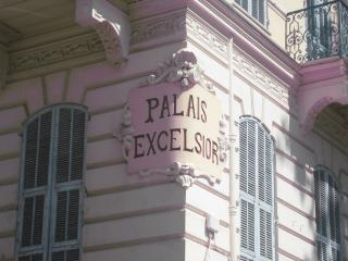 TYPICALL FLAT IN OLD PALACE AT NICE FRENCH RIVIERA