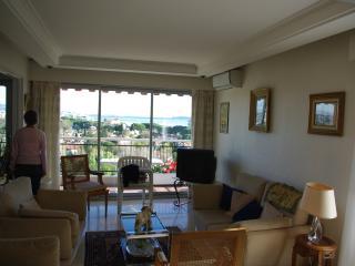 l'orée de l'islette,7eme étage,vue baie de Cannes