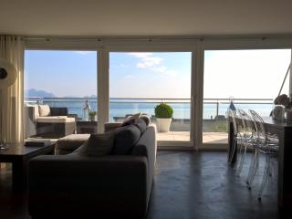 Maison avec vue panoramique sur le lac