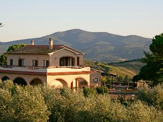 Old tuscany farm house Maremma fantastic overview, Roccastrada