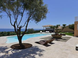 PROPRIETE DE PRESTIGE  480m2avec piscine chauffée, 6 chambres vue mer féerique