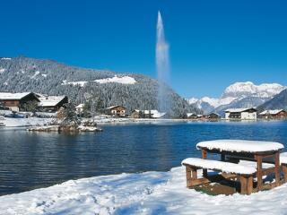 cute 2 rooms appartment with view on the lake, Chatel