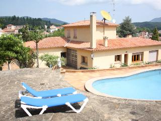 Whole rustic mansion with garden and pool, Sant Hilari Sacalm