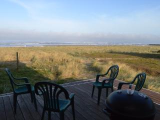 Ocean front deck.