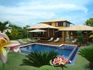 Brésil, Bahia, Superbe villa, piscine et plage