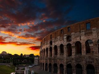 COLOSSEUM, WHERE THE ROMANS