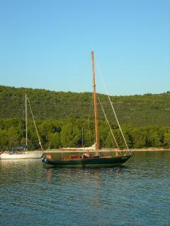 vacanza in barca a vela 14 mt d'epoca