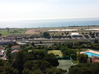 Residence vue mer dans domaine securise Cagnes