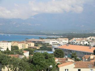Grande terrasse vue mer et montagne - Calvi centre